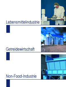 Foodstuffs industry, grain industry and non-food industry